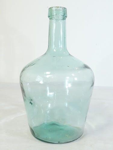 Dame jeanne en verre soufflé bullé 2 litres nº2