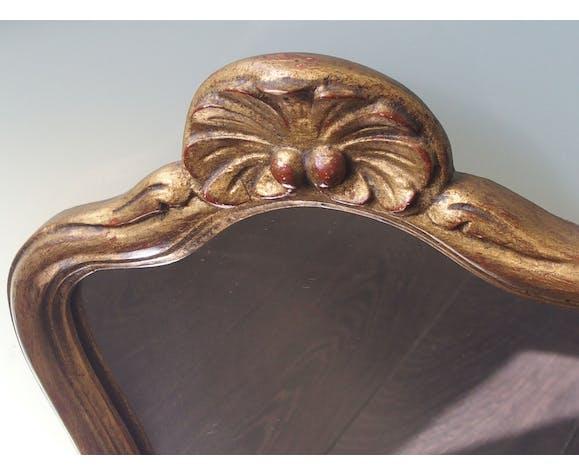 Wooden mirror 42x30cm