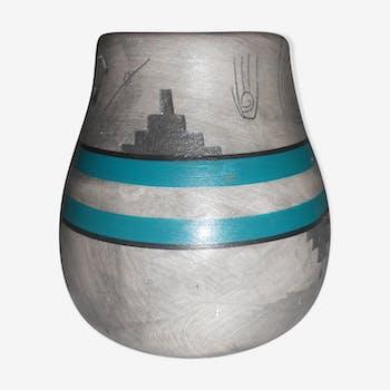 small vintage ceramic vase