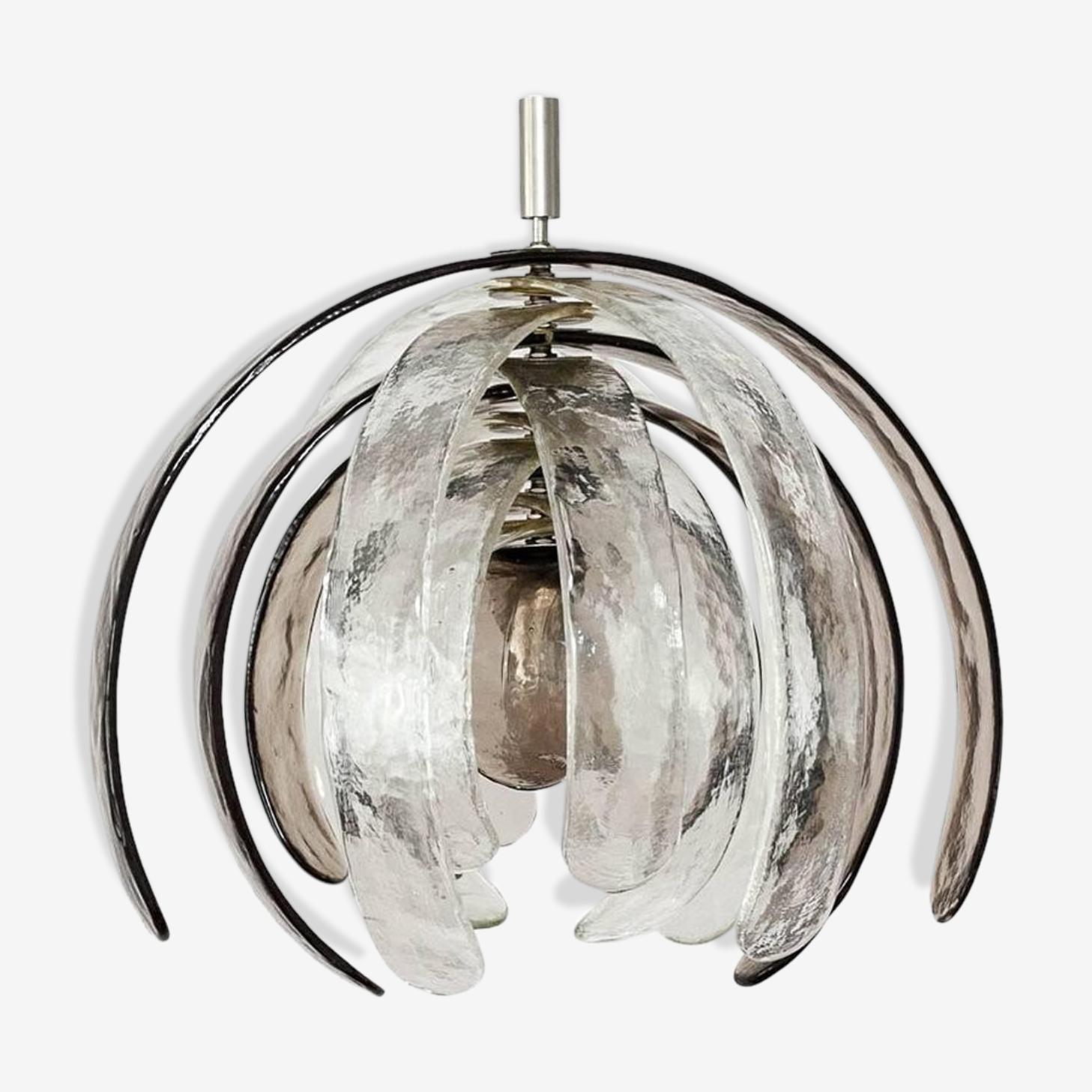 Lustre en verre de Murano 'Artichoke' Mazzega