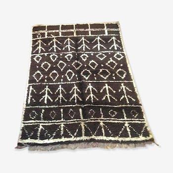 Carpet Moroccan vintage 210 X 150 cm