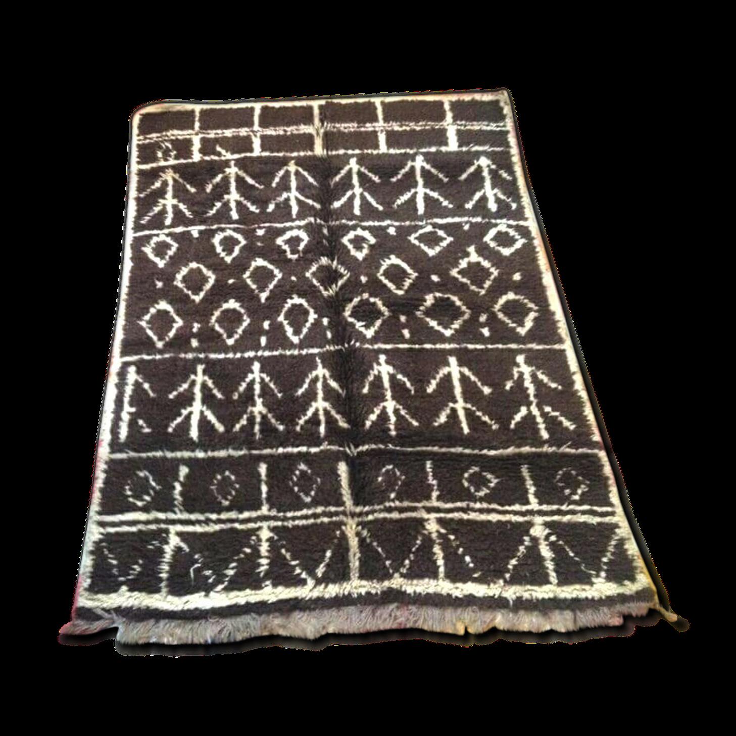 Tapis marocain vintage 210 X 150 cm
