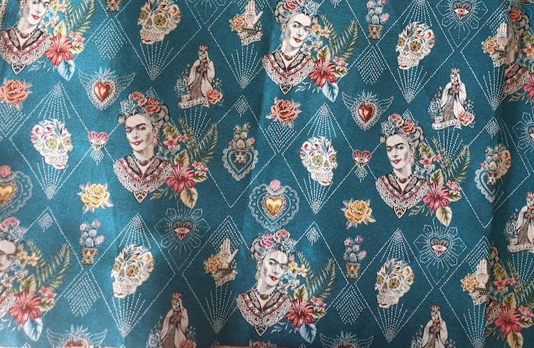 Housse de coussin Frida Kahlo