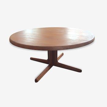 Table low Scandinavian vintage teak