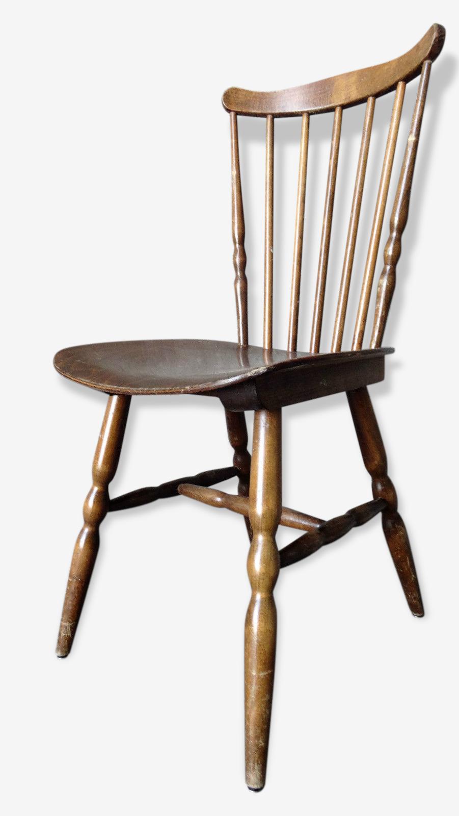 Baumann - série de 4 chaises de bistrot