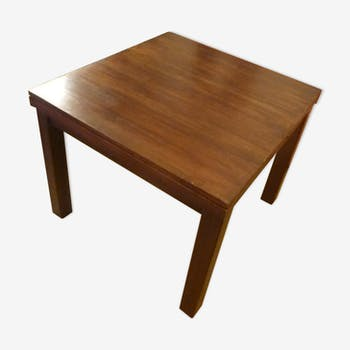 Solid teak table in Asia