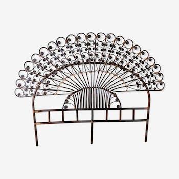 Peacock bedhead
