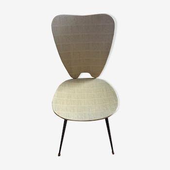 chaise haute en osier enfant rotin et osier beige vintage djtmwxh. Black Bedroom Furniture Sets. Home Design Ideas