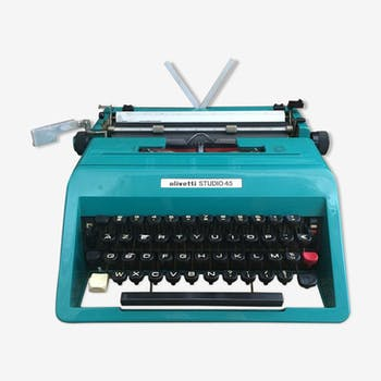 Studio 45 Olivetti typewriter