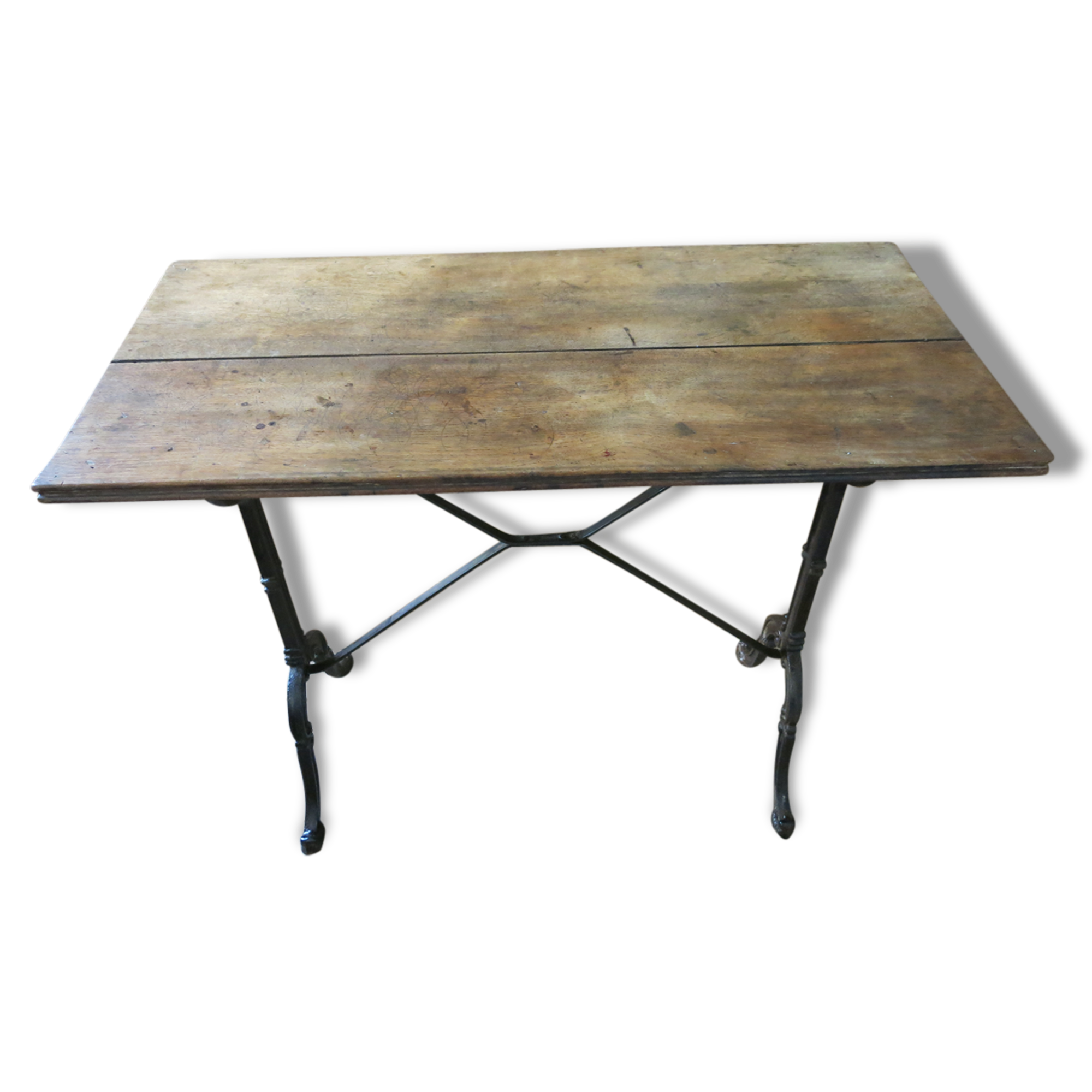table bistrot ancienne interesting ancienne table bistrot patine duorigine plateau ovale. Black Bedroom Furniture Sets. Home Design Ideas