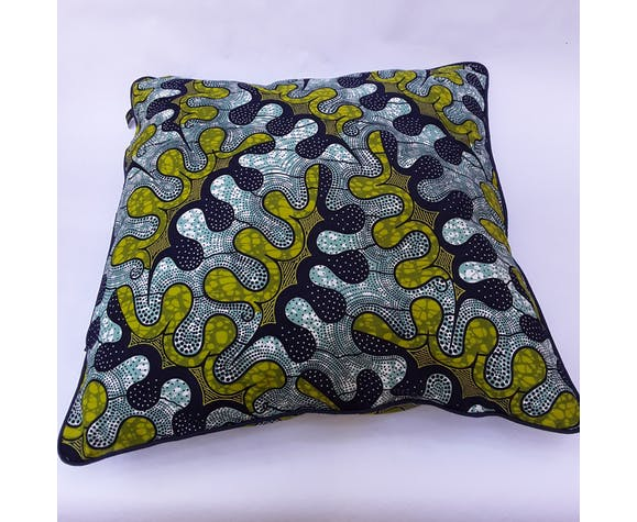 100% real wax cushion cover 50x50 cm