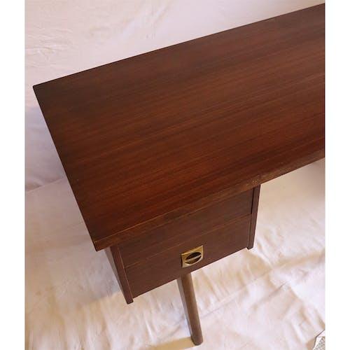 Bureau vintage en bois 1960