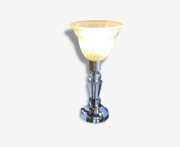 Lampe De Chevet Verre Cristal Taille Et Moule Verre Et Cristal
