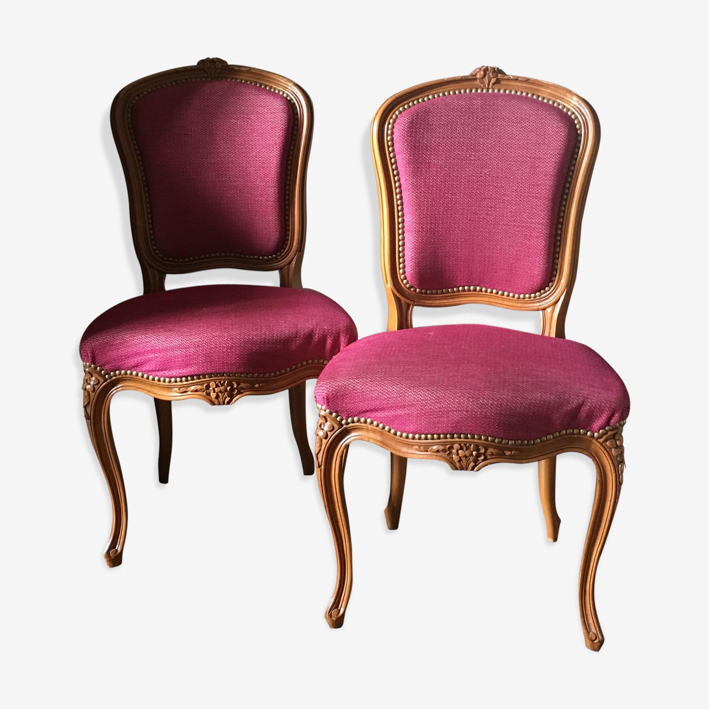 Chaises restaurées