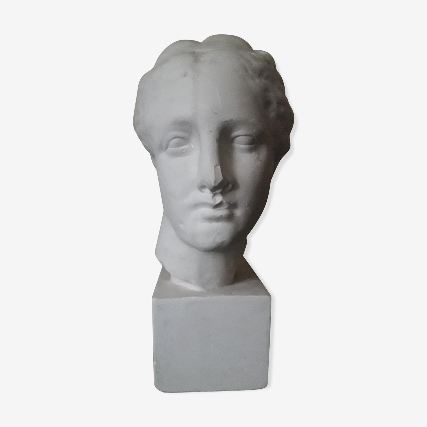 Buste plâtre Aphrodite début XX ème