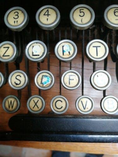 Machine à écrire Map pour format A3
