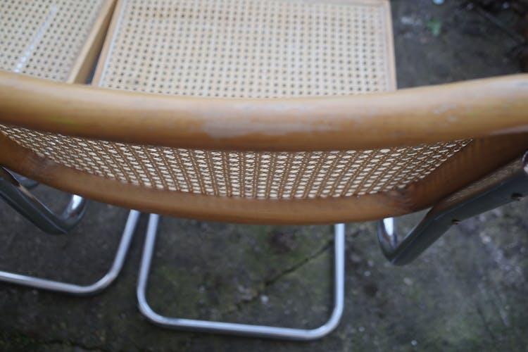 Set de 4 chaises de Marcel Breuer Cesca B32