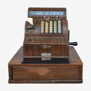 Caisse enregistreuse ancienne de pharmacie années 1930