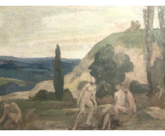 Paysage d'Arcadie