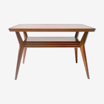 Table low art deco mahogany Italy 1930 s