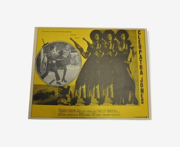 Mexican Lobby Card Cleopatra Jones Blaxploitation Movie Poster Selency