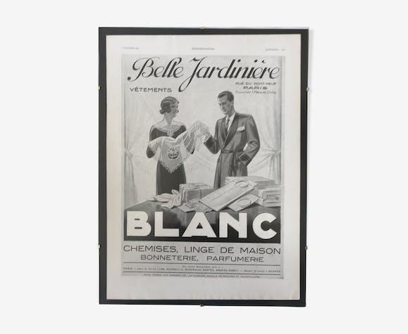 Affiche publicitaire Belle Jardinière 1933