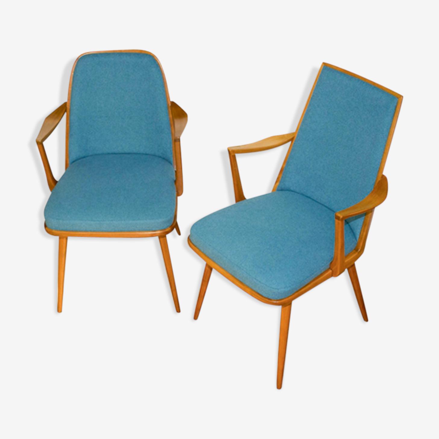 Pair of Danish chairs 1960