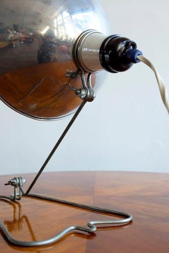 Czechoslovak Adjustable Industrial Table Lamp, 1960s