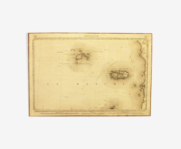 Granville war depot map