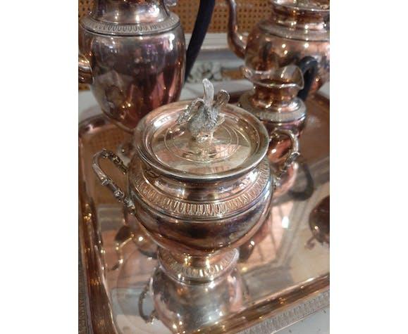 Service à thé café en métal Argenté Guildart