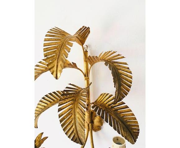 Applique feuille de palmier doré