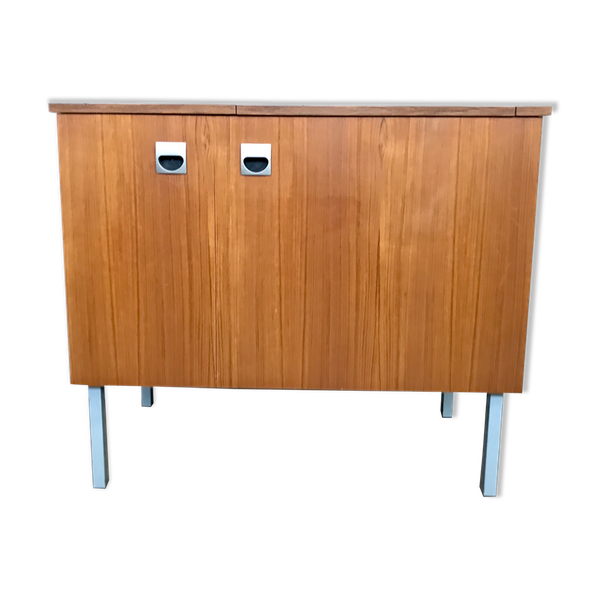 Bahut meuble tv hifi vintage teck 50/60 style scandinave LEGRAND DESIGN