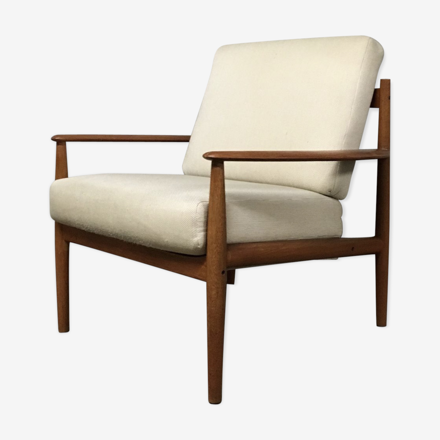 Danish mid-century 118 armchair by Grete Jalk for France & Son, 1950