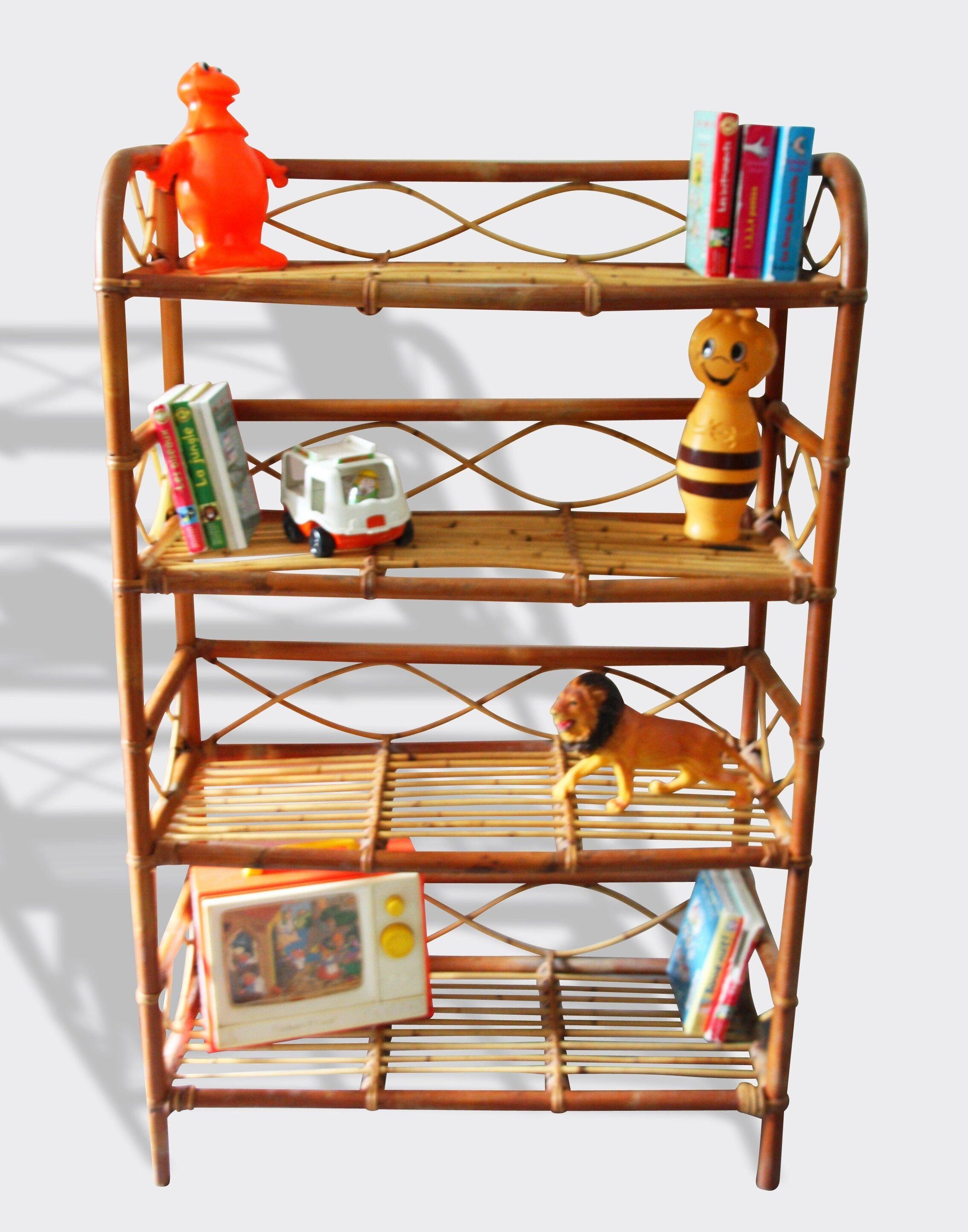 bibliotheque osier. Black Bedroom Furniture Sets. Home Design Ideas
