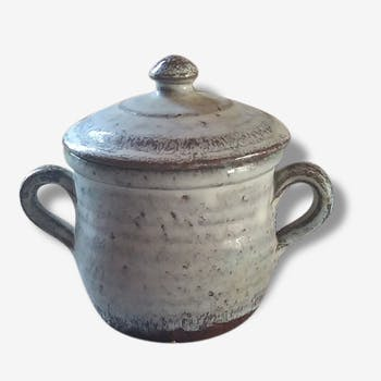 Pot with handles, Vallauris, around 1960