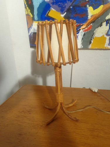 Lamp to be laid Louis Sognot 1950