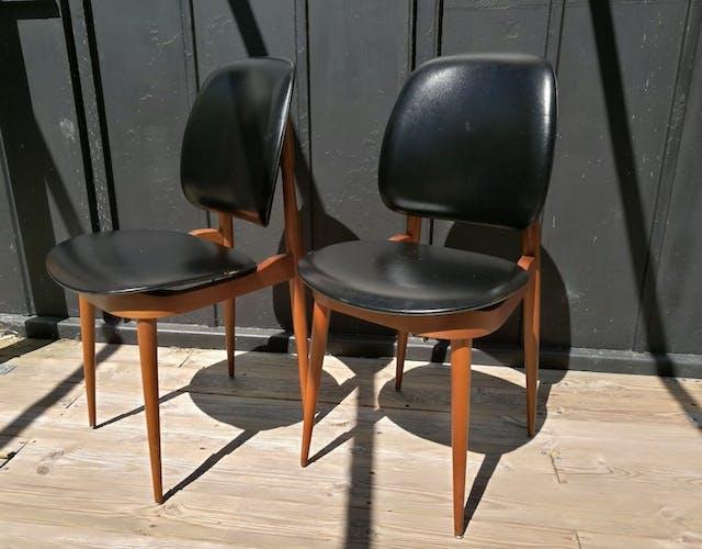4 chaises Pégase Baumann