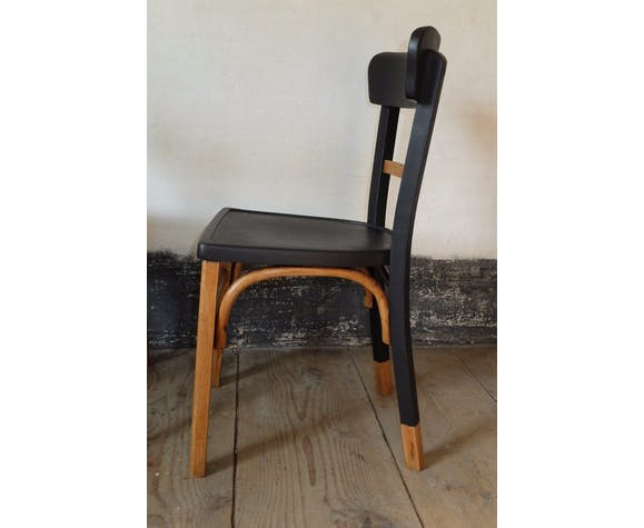 Croissant Chaise bistrot relookée   Selency MQ-53