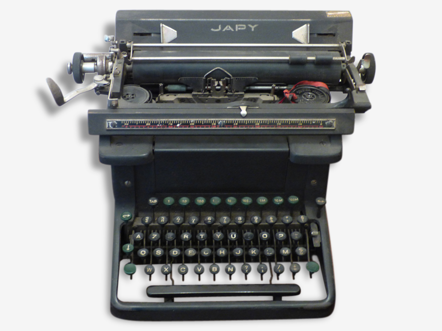 Très belle machine à écrire du XIX
