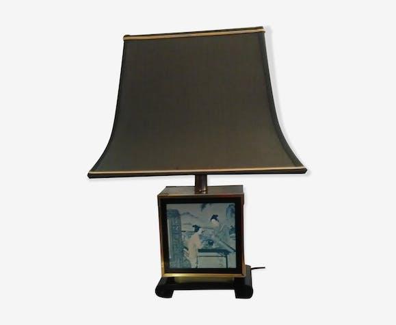 Lampe de table style Asiatique