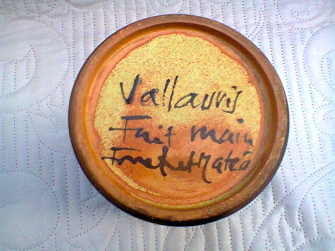 Roll vase by Jacques Fonck and Jean Matéo Vallauris