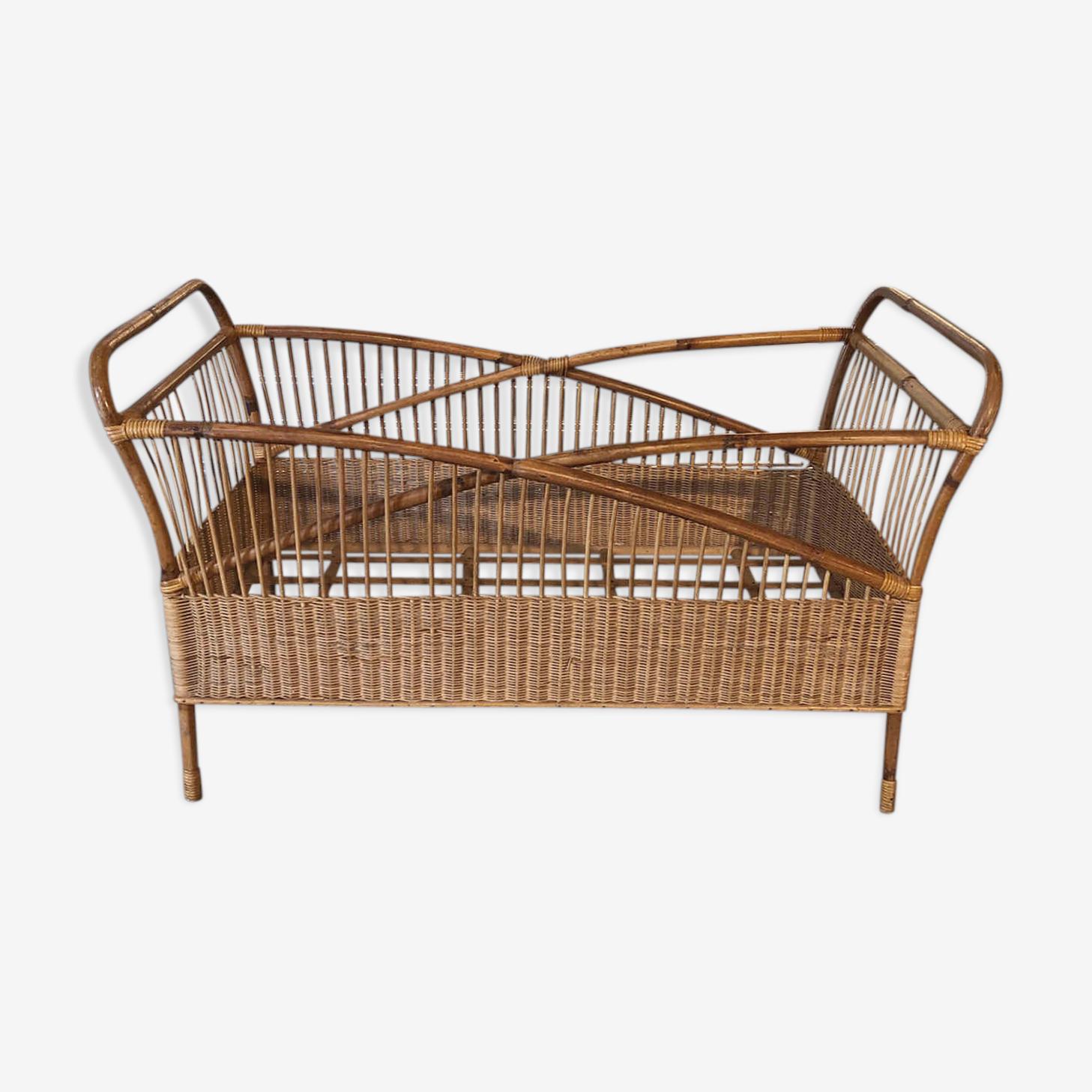 Child rattan bed