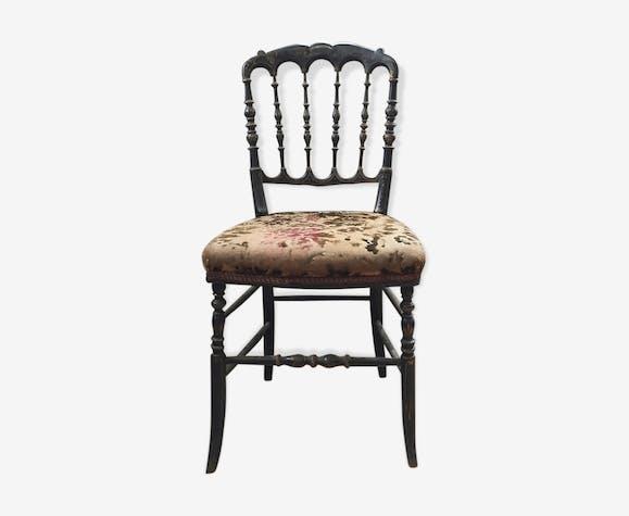 Chaise Style Napoleon III Jaune