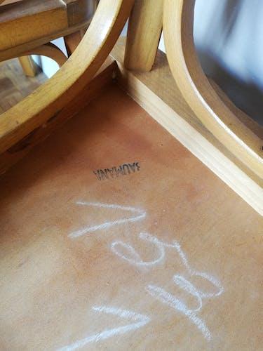 Série de 4 chaises bistrot Baumann 153