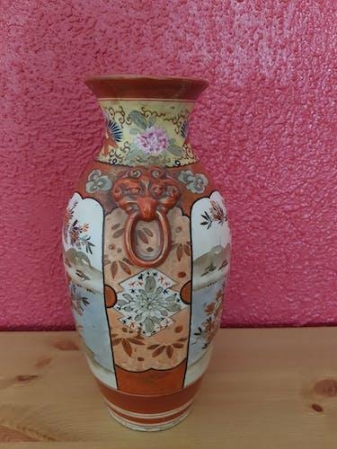 Vase en porcelaine, Satsuma, Japon