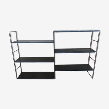 String shelf, modular black lace-up 50/60
