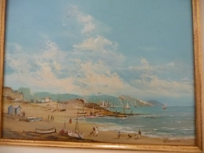 Willy Pannier old painting 1952
