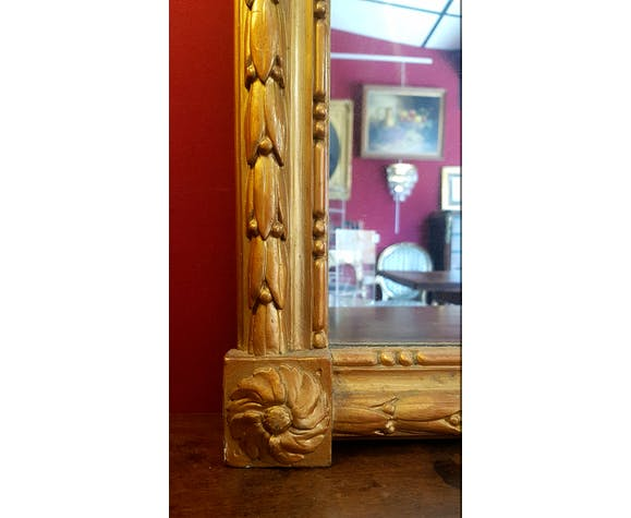 Mirror Louis XVI - 19th - 147x66cm