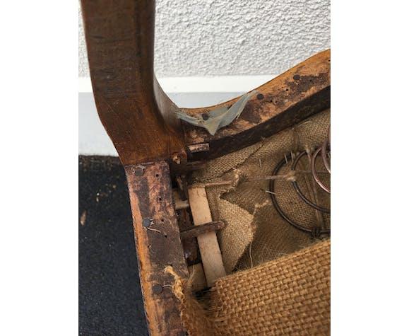 Série de 4 fauteuils d'époque louis XV