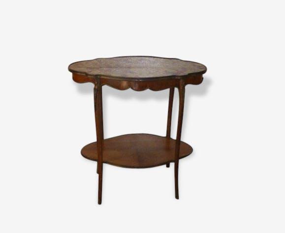 Table Console Baroque De Style Louis Xv Marbre Bois Et Décors